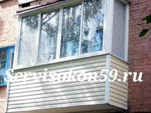 Остеклить балкон пермь