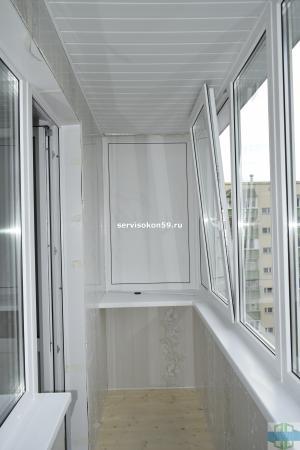 Внутренняя отделка балкона пермь