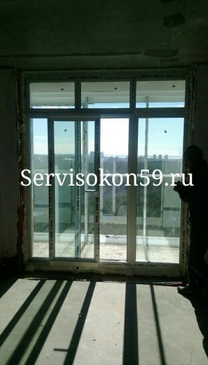 Раздвижные ПВХ окна в Перми